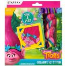 Großhandel Spielwaren: Kreativset stich starpak Trolls pud