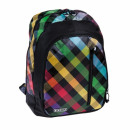 backpack starpak checkered pouch