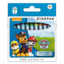 wholesale Licensed Products: wax crayons 12 colors starpak Paw Patrol pud