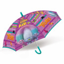Großhandel Regenschirme: Kinderschirm 45cm Trolls pud