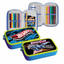 pencil case 2 zips equipped with starpak 46 54 hot