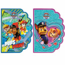 shaped notebook starpak a6 Paw Patrol foil 10/1