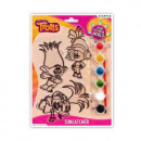 wholesale Decoration: witraze plastic starpak Trolls blister