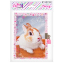 diary closed 135x190 starpak rabbit pouch