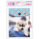 diary closed 135x190 starpak puppy small bag