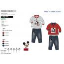 MICKEY -ensemble polo & pantalon 100% polyester /