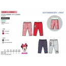 wholesale Trousers: Minnie - pack of 2  leggings 100% polyester
