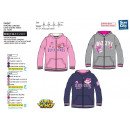 SUPER WINGS - sweat capuche zippe 100% polyester