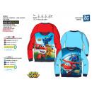 wholesale Fashion & Apparel: Super Wings - 100% polyester sweatshirt