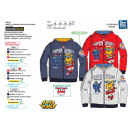 SUPER WINGS - sweat capuche zippe 65 % polye