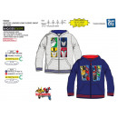 Transformers - zipped hood sweatshirt 100% polyest