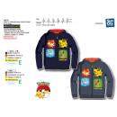 POKEMON - 100% zip hoodie polyester