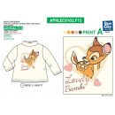 BAMBI - sous pull-over collar roule 100% coton