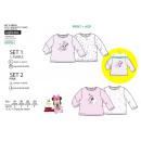 Minnie - lot 2 T-Shirt 100% coton