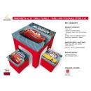 groothandel Klein meubilair: Cars - 2 kamers  krukken en tafel pliabl