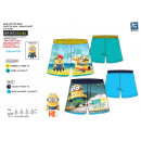 Großhandel Bademode: Minions - Shorts aus 100% Polyester