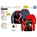 Star Wars IV - zipped hood sweatshirt 100% polyest