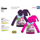 Super Wings - zipped hood sweatshirt 100% polyeste