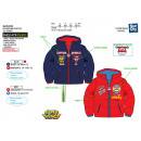 SUPER WINGS - doudoune 100% polyester