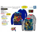 TRANSFORMERS - sweat capuche zippe 100% polyester