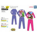 wholesale Sleepwear: Super Wings - sublime 100% polyester pajamas
