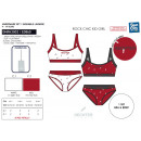 wholesale Childrens & Baby Clothing: HECHTER STUDIO -assemble bras & panty 95% cott