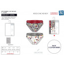 wholesale Lingerie & Underwear: HECHTER STUDIO - set of 2 briefs 100% coton