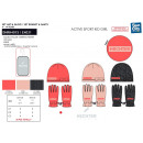 HECHTER STUDIO - set 2 pieces hat & gloves 100