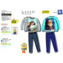 wholesale Sleepwear: Minions - long fleece pajamas 100% polyester