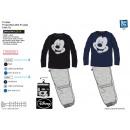 Mickey - Long pijama 100% algodón