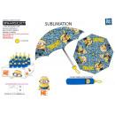 wholesale Umbrellas: Minions - umbrella with pocket 100% polyester