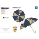 Minions - paraguas d: 65 h: 55 100% poliéster