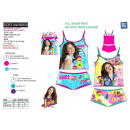 wholesale Fashion & Apparel: Soy Luna - top  bret set. & shorty subl 100%
