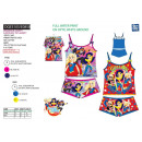 DC SUPER HERO GIRLS - top bret set. & shorty s