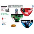 Star Wars IV - 3 slips kit 100% algodón