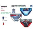 grossiste Vetement et accessoires: AVENGERS CLASSIC - trousse de 3 slips 100% coton