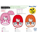 wholesale Scarves, Hats & Gloves: Hello Kitty - 100% coton cap & glasses