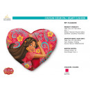 grossiste Coussins & Couvertures: ELENA OF AVALOR - coussin coeur pm