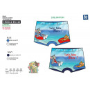 TOM & JERRY - sublimated swim boxer 85% polyes