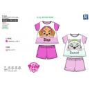 Paw Patrol - pyjacourt T-Shirt & sh 100% coton