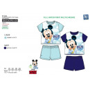 Mickey - pyjacourt T-Shirt & sh 100% algodón