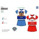 Paw Patrol - pyjacourt T-Shirt & sh 100% algod