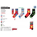Avengers CLASSIC - calcetines 70% algodón 18% de p
