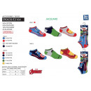 wholesale Licensed Products: Avengers CLASSIC - pack 3 socks low 55% c