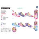 Großhandel Strümpfe & Socken: Princess - 3 Pack  Socken niedrigen 55% c