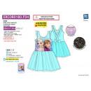 frozen - dress s / m back fancy 65% polyester /