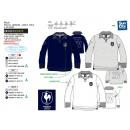 grossiste Vetement et accessoires: FFR - polo manches longues 100% coton
