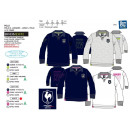 FFR - polo manches longues 100% coton