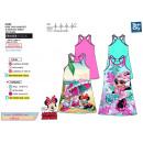Minnie - vestito s / dorso fantasia 100% culla
