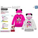 Minnie - hood sweatshirt 65% polyester / 35% cotto